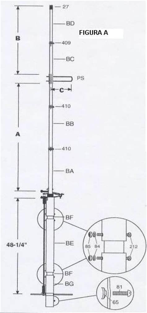 Antena Ringo Ranger armado ringo ranger crx 150b