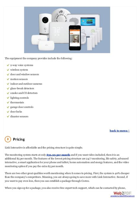 link interactive home security system review of protect