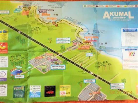 akumal resort map akunal map picture of lol ha on akumal bay