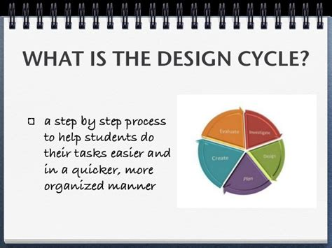 design cycle powerpoint design cycle ppt 8c18