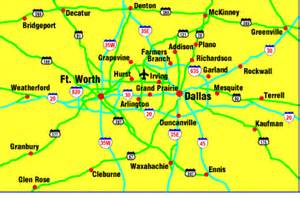 map of dallas and suburbs map of dallas photos map pictures