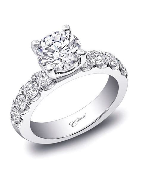 coast diamond traditional engagement ring lz5017 wedding ring the knot