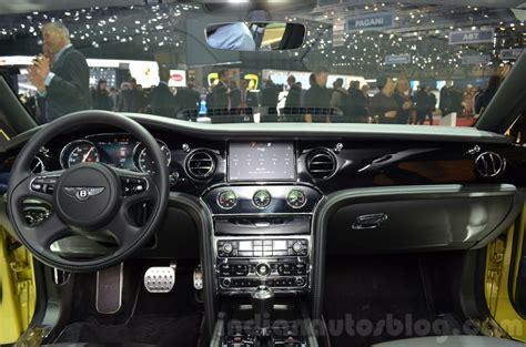 2016 bentley mulsanne facelift geneva show live 2016 bentley mulsanne speed facelift dashboard at the 2016 geneva motor show live indian