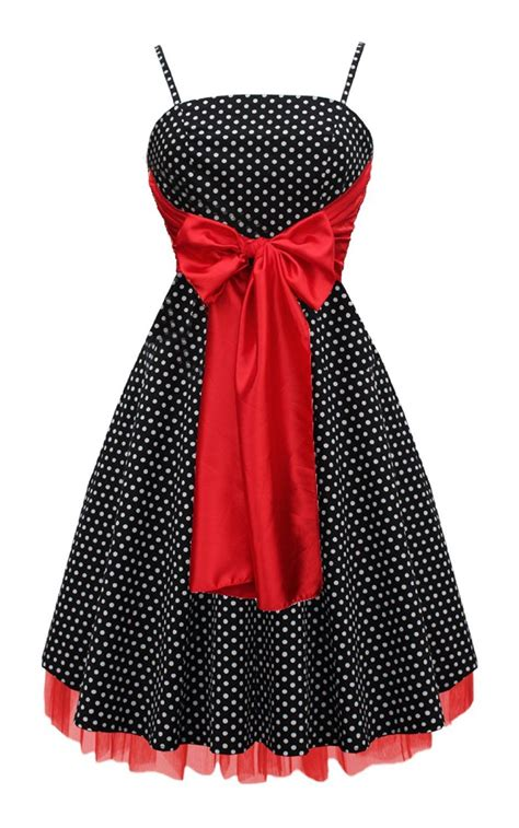 Swing Bow by Black Butterfly Large Bow Polka Dot Retro 50s 60s