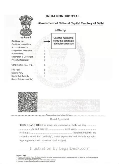 Verification Letter Delhi Make A Rental Agreement For Delhi