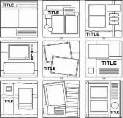 8x8 Sketches by Best 25 8x8 Scrapbook Layouts Ideas On