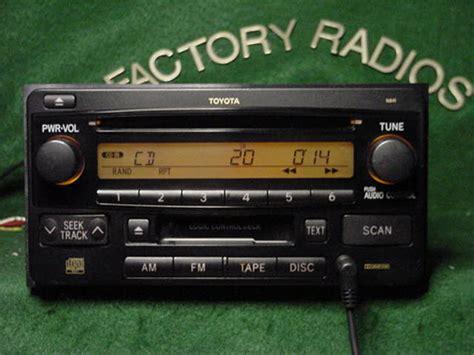 Toyota 4runner Aux Input Toyota 4runner Matrix Cd Cassette Radio With Aux Input