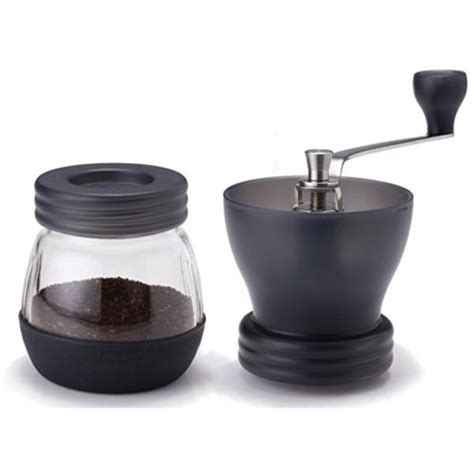 Gater Single Conical Ceramic Burr Manual Grinder Bm155 D hario skerton ceramic burr manual coffee grinder cape coffee beans