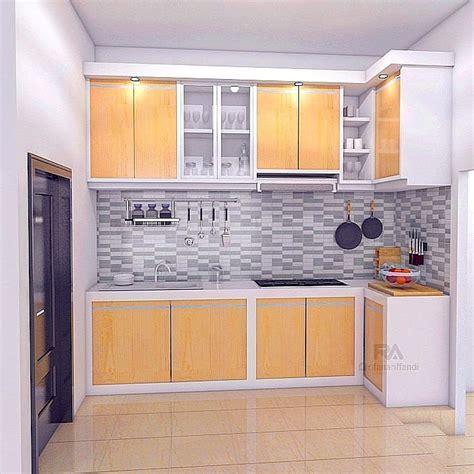 kitchen set minimalis sederhana modern terbaru dekor rumah
