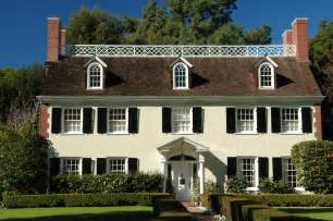 Colonial Home Designs Free Home Plans Center Hall Colonial Home Plans