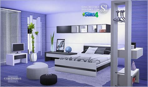 Sims 3 Bedroom Sets My Sims 4 Blog Concinnus Bedroom Set By Simcredible Designs