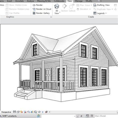 Revit House Plans Building Other Revit House Architecture
