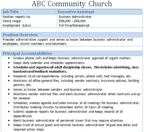 Church Administration Description by 7 Steps To Implementing Church Strategy