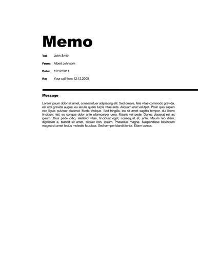 Free Business Memo Templates All Templates Are Free To Download Modify And Distribute Modern Memo Template Docs