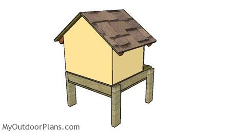 make insulated dog house cat house roof plans myoutdoorplans free woodworking plans and projects diy shed