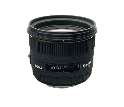 Lensa Sigma 50mm F1 4 For Canon Sigma Lens 50mm F1 4 Ex Dg For Canon Sinar Photo Digital Accessories Centre Denpasar
