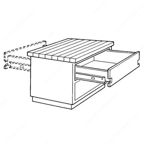 Two Way Drawer Slides drawer slide two way travel drawer slides