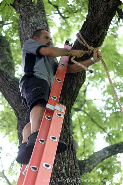 diy tree swing living well spending less 174