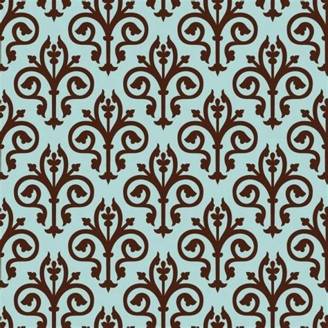 elegant pattern ai blue elegant pattern vector free download