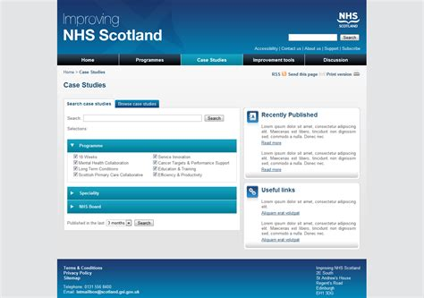 business template nhs improving nhs scotland capita meanteam