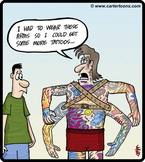 tattoo cartoon funny tattoo quotes cartoons quotesgram