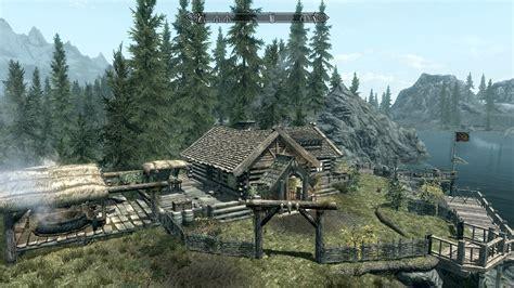 Skyrim House by Hunters Lake House At Skyrim Nexus Mods And Community