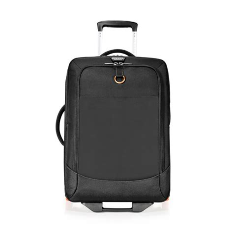 troly bag 4 roda 18inch everki titan laptop trolley fits 15 inch to 18 4 inch