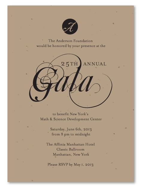 Fundraiser Save The Date Card Templates by 25 Best Ideas About Gala Invitation On