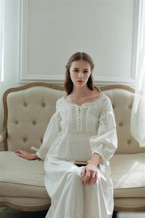 vintage nightgowns womens vintage pajamas hot vintage nightgowns for women full length pure cotton