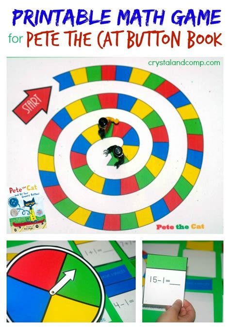 printable board games for kindergarten printable math game for kids