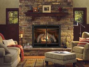 mechanical gas fireplaces
