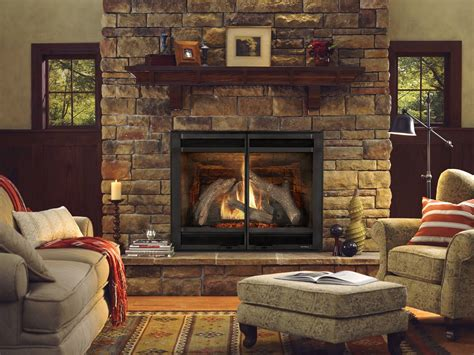 lighting gas fireplace new interior design