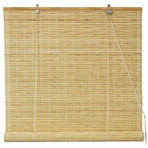 Bamboo Window Shades Furniture Burnt Bamboo Roll Up Blinds Honey