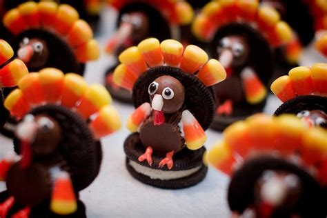 Turkey Turkey Turkey I Made It Out Of Clay Oh Wait Wrong by Oreo Turkey Cookies 183 Recipe Finds 183 Cut Out Keep Craft