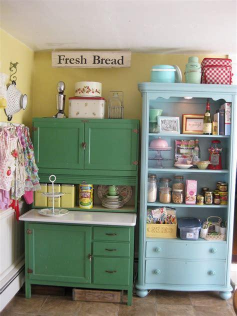 retro kitchen ideas scenic green and blue vintage kitchen cabinet storage also