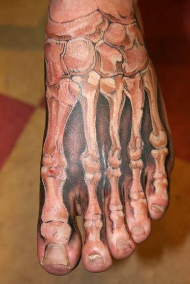 3d tattoo on foot tattoo art anatomy tattoos