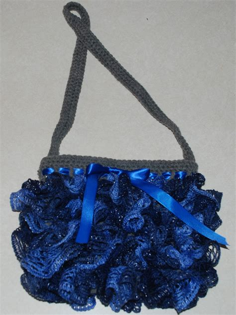 crochet ruffle bag pattern amy s crochet creative creations crochet sashay yarn purse