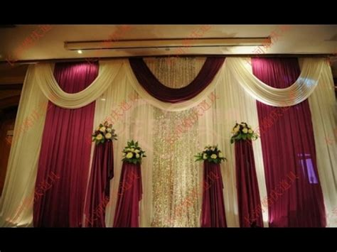 Wedding Background Decorations by Wedding Stage Background Decoration