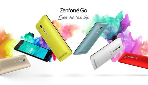 Asus Zenfone Go 4 5 2016 asus zenfone go 4 5 now available in the philippines with
