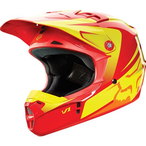 closeout motocross helmets clearance fox 2015 youth v1 imperial motocross helmet