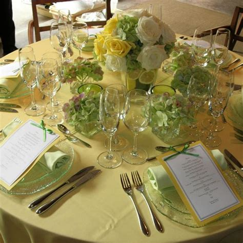 Lime And Yellow Decor by Your Wedding In Colors Lime Green And Yellow Arabia