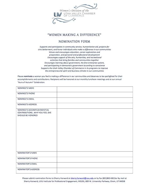 employee of the month nomination form template employee of the month template new calendar template site