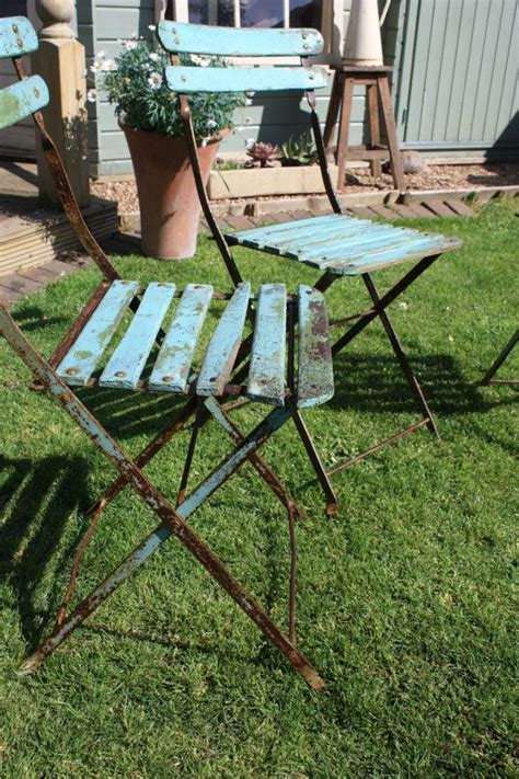 images  vintage garden furniture  pinterest iron patio furniture folding