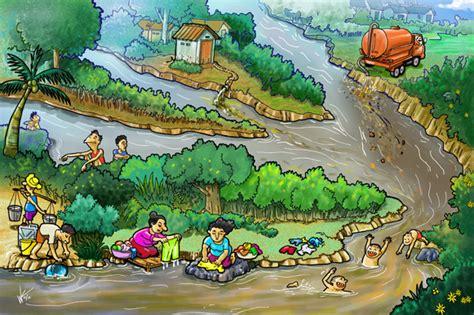 Acrylic Di Malaysia diperkirakan 90 limbah cair domestik dibuang tanpa