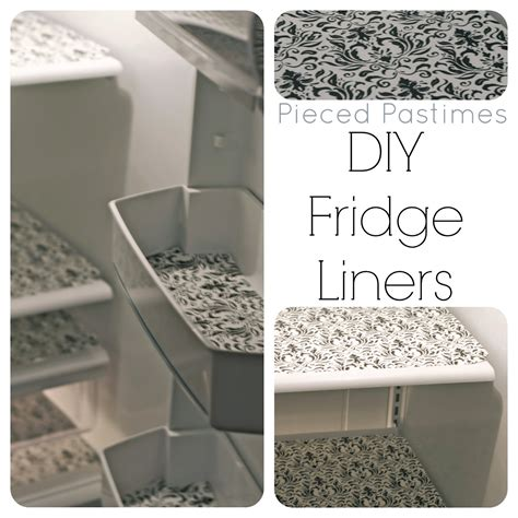 refrigerator drawer liners pieced pastimes diy fridge liners