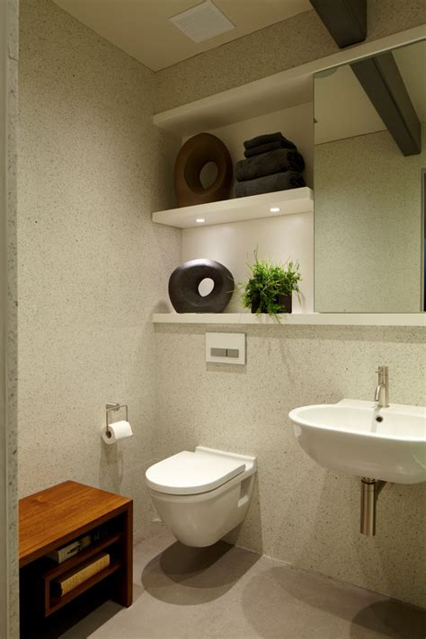 Splashy duravit toilet in Bathroom Modern with Wall Hung