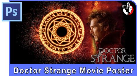 Photoshop Magic Or The Weirdest Photo by Photoshop Tutorial Make Doctor Strange Poster