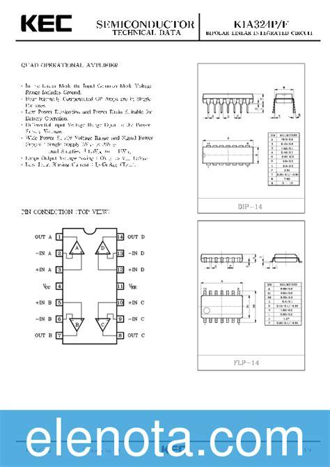 kia324p datasheet pdf 324 kb kec pobierz z elenota pl