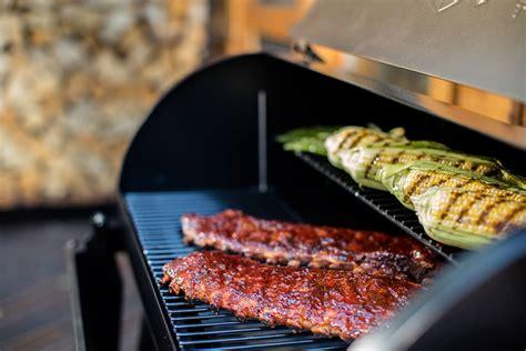 sear   traeger wood pellet grill