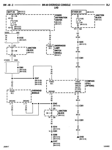 2000 jeeo dome light wiring diagram 44 wiring